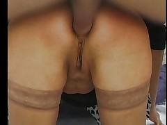 ANAL PAIN FOR BLONDE GRANNY