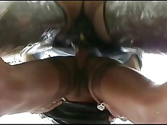 Whore Traudl Caff gets a rough ass-insemination in public