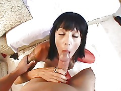 Hot Busty MILF Shadow Banging