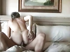Amateur mature couple