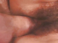 Mature with Hairy Pussy. Fuck & Cumshot 4