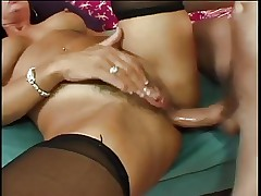 mature loves dick and anal