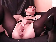 Dirty MILF Loves Anal Destruction & Squirting