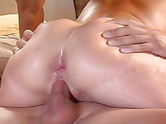 Anal Mature and Young Guys DP