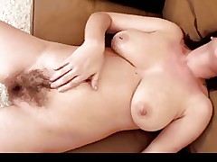 Hairy Mature Fingering Herself