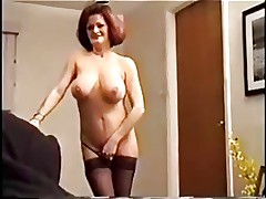 Mature Slut Smoking and Fucking