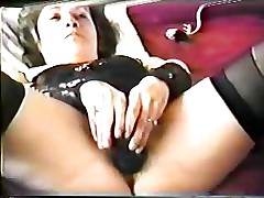 Hairy Wife Gets Her Pussy Stretched Out