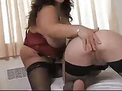 HOT Mature mom Loves Youngsib Pussy -NV
