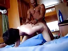 Black Man Fuck and Cums in His Wife